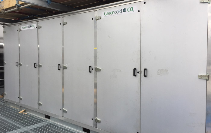CO2 Cooling Pack Cabinets