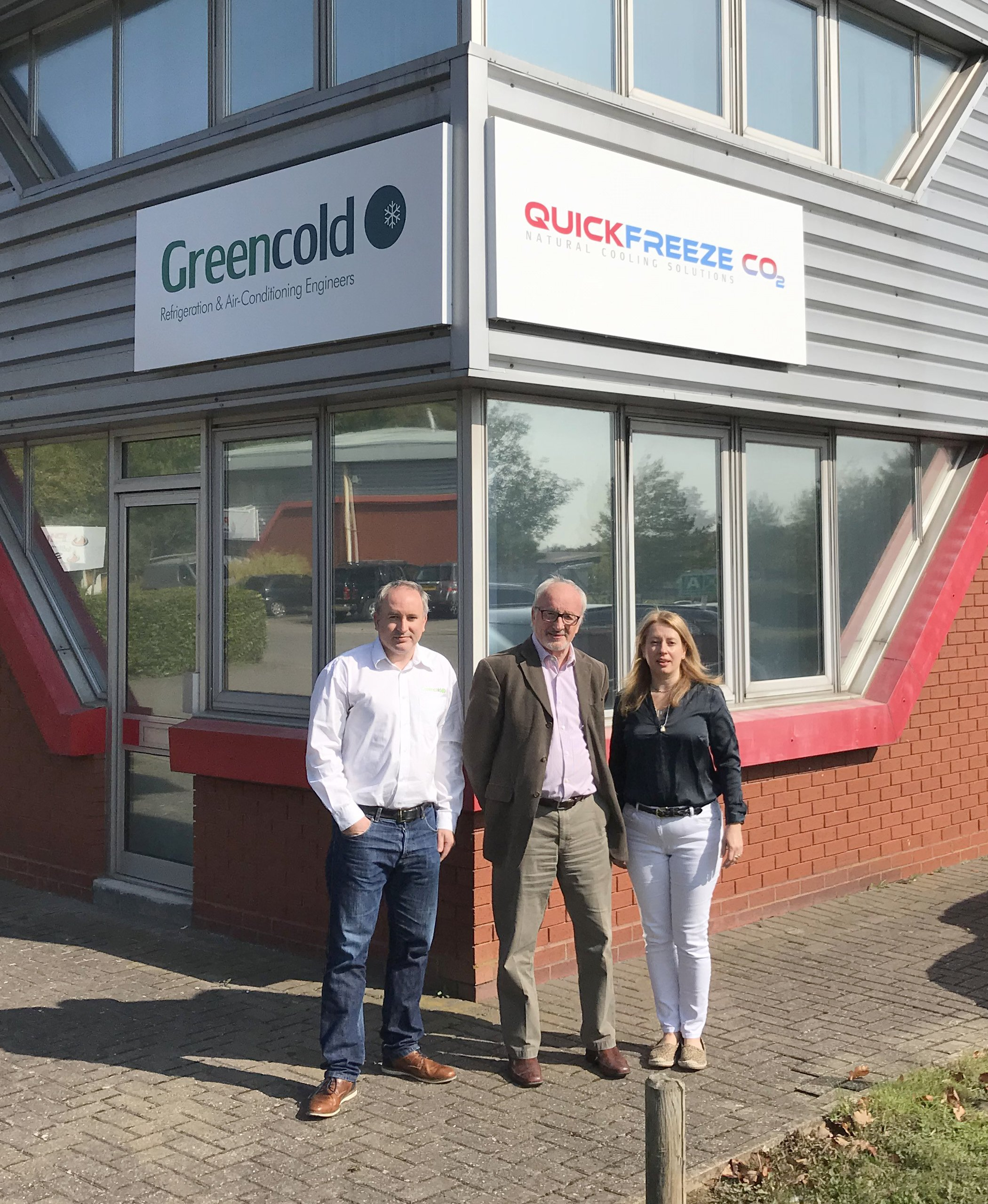 Greencold Management Team