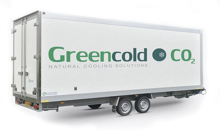 Greencold Large Custom Refrigerated Trailer