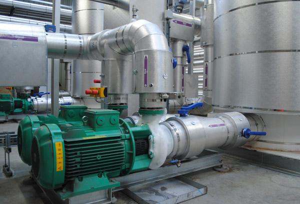 Ammonia Glycol Installation