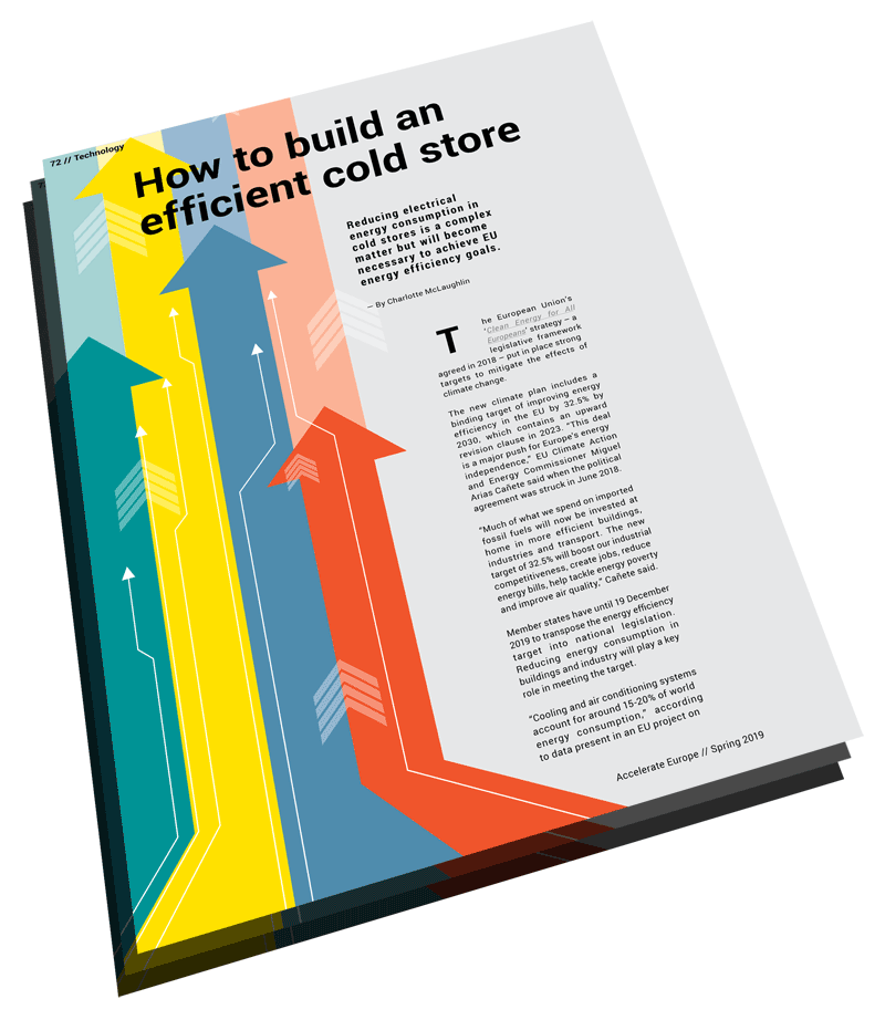 How to build an efficient cold store article (Accelerate Europe)