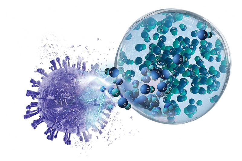 Coronavirus (SARS-COV-2) Inhibting Air Conditioing