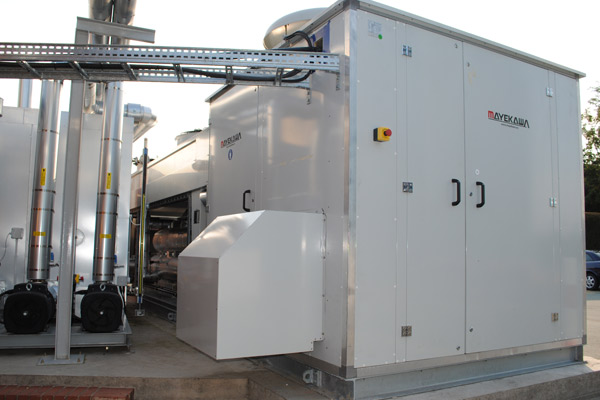 Chiller Pumps and Tank